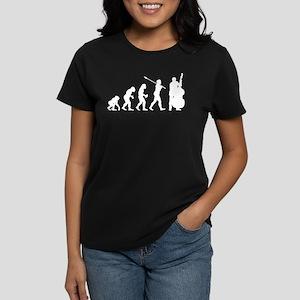 Double Bassist Player Women's Dark T-Shirt