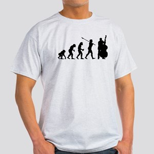 Double Bassist Player Light T-Shirt