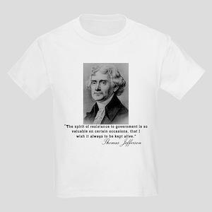 Jefferson Spirit of Resistance Kids T-Shirt