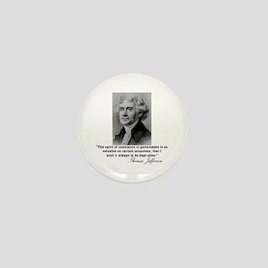Jefferson Spirit of Resistance Mini Button