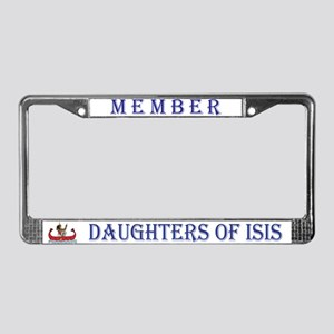 Daughters of Isis License Plate Frame