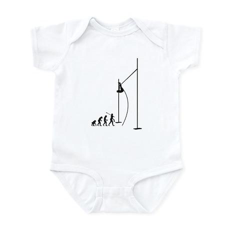 Pole Vault Athlete Infant Bodysuit