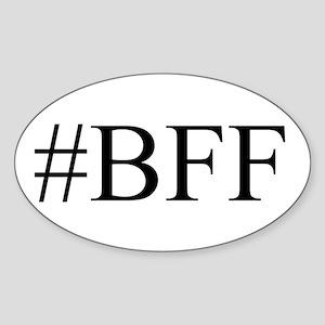 # BFF Sticker (Oval)