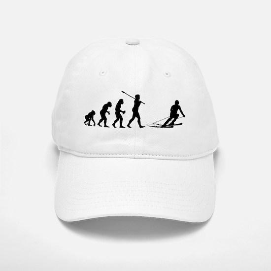Skier Baseball Baseball Cap