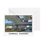 Freeway Madness Greeting Cards (Pk of 10)