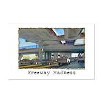 Freeway Madness Mini Poster Print
