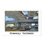 Freeway Madness Postcards (Package of 8)