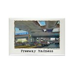 Freeway Madness Rectangle Magnet (10 pack)