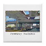 Freeway Madness Tile Coaster