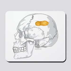 PEANUT BRAIN Mousepad