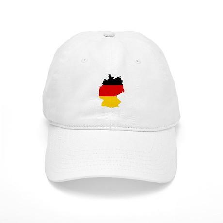 German Flag (shape) Cap