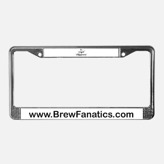 Yeast Whisperer License Plate Frame