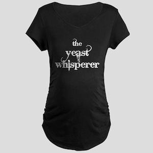 Yeast Whisperer Maternity Dark T-Shirt