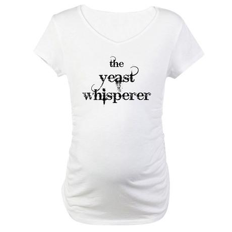 Yeast Whisperer Maternity T-Shirt