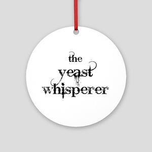 Yeast Whisperer Ornament (Round)