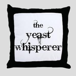 Yeast Whisperer Throw Pillow