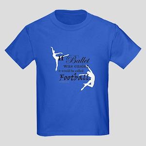 """""""If Ballet Was"""" Kids Dark T-Shirt"""
