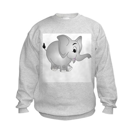Elsie The Elephant Kids Sweatshirt