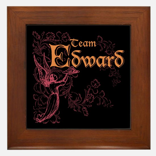Team Edward Eclipse Framed Tile