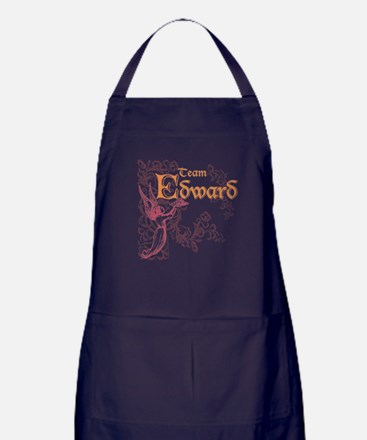 Team Edward Eclipse Apron (dark)