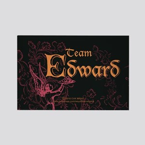 Team Edward Eclipse Rectangle Magnet