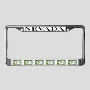 NV License Plate Frame