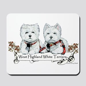 West Highland White Terriers Mousepad