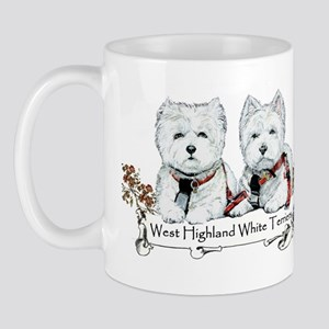 West Highland White Terriers Mug