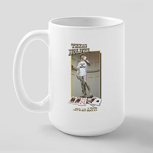 I'VE GOT THE NUTS! Large Mug