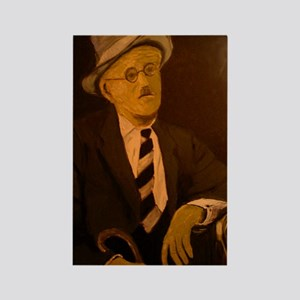 James Joyce Rectangle Magnet