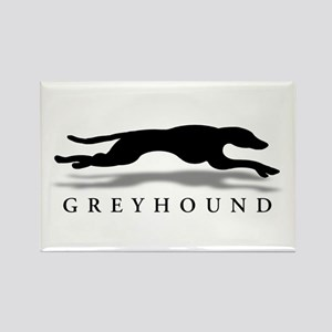 Greyhound Rectangle Magnet