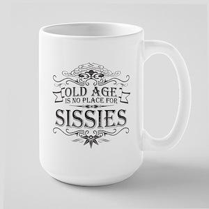 Old Age Large Mug