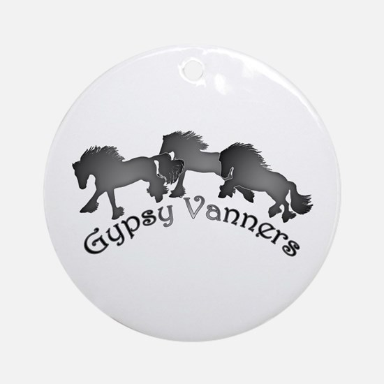 Gypsy Silhouettes Ornament (Round)