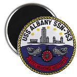 USS ALBANY Magnet