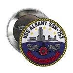"""USS ALBANY 2.25"""" Button"""