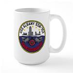 USS ALBANY Large Mug