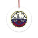USS ALBANY Ornament (Round)