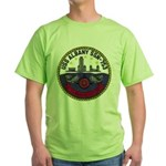 USS ALBANY Green T-Shirt