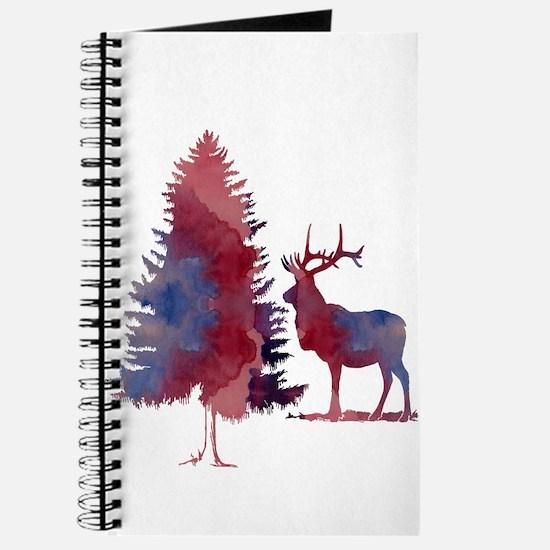 Deer and tree Journal