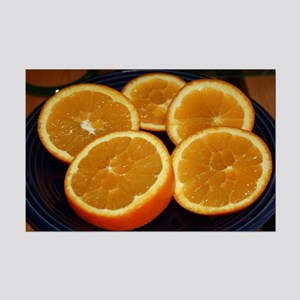 Orange Slices Mini Poster Print