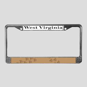 WV License Plate Frame