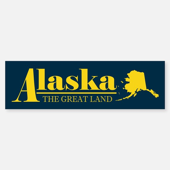 Alaska Gold Sticker (Bumper)