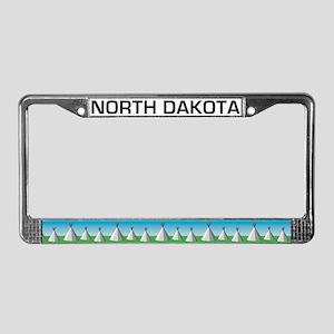 ND License Plate Frame