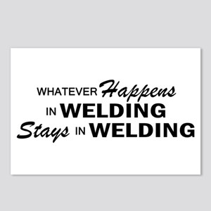 Whatever Happens - Welding Postcards (Package of 8