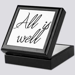 All is well Keepsake Box