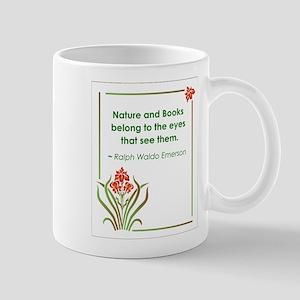 Nature and Books Mug
