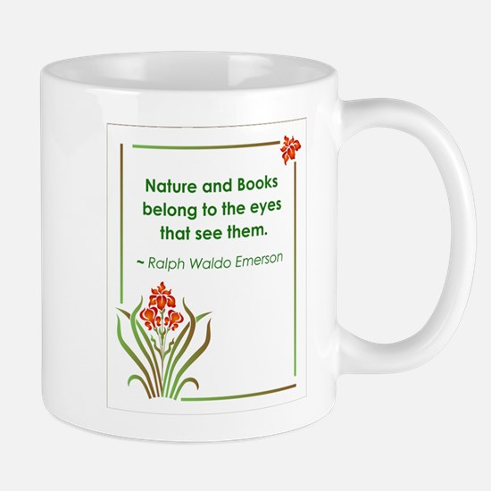 Nature and Books Mug