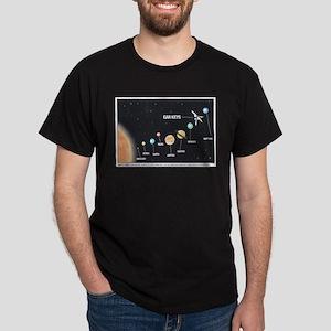 Car Keys Lost In Space Dark T-Shirt