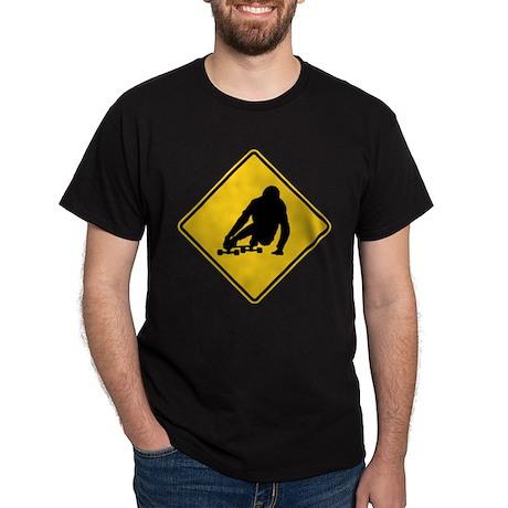DH sing longboarding Dark T-Shirt