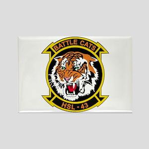 HSL-43 Battle cats Rectangle Magnet (10 pack)
